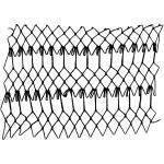 mignonette netting - a decorative netting stitch