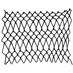 open netting - a decorative netting stitch