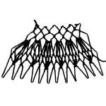 bleeding hearts increase netting stitch