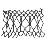 crisscross decorative netting stitch