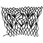 lantern decrease netting stitch