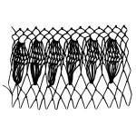 Leaf Netting Decorative Stitch