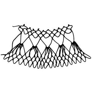 mirror increase netting stitch