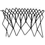 peaks decrease netting stitch