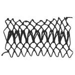 rickrack decorative netting stitch