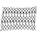 shield decorative netting stitch