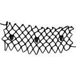 tufts decorative netting stitch
