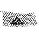 Tufts Triangle  Stitch - decorative netting