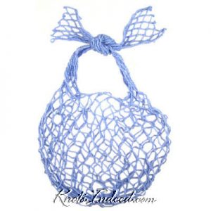 net bag made with spiral netting