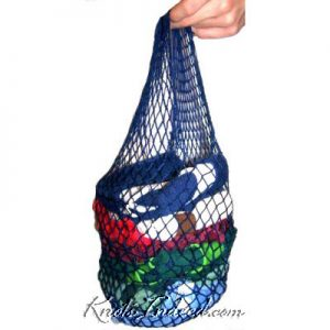 net bag with single handle