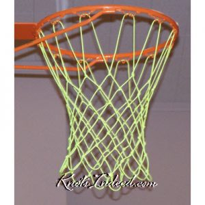 basketball net hanging from a basketball standard