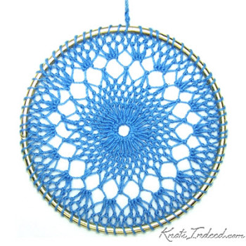 Net Suncatcher: Waves - 4 inch