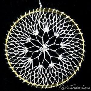 Net Suncatcher: Web - 3 inch