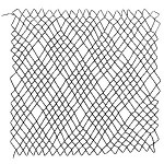 diamond netting 5 loop decorative netting stitch