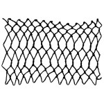 long twisted netting - a decorative netting stitch