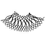 crisscross increase netting stitch