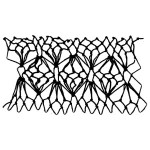lantern decorative netting stitch