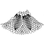 pinecone increase netting stitch