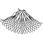 pyramid increase netting stitch