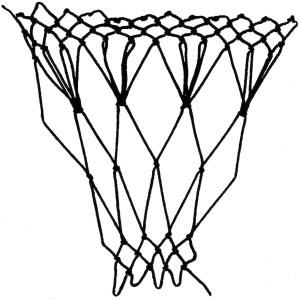 spray decrease netting stitch