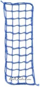 an example of square-mesh netting