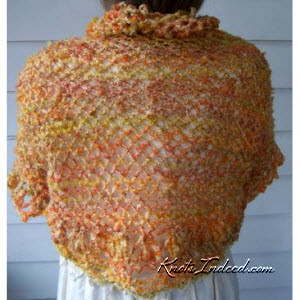 net shrug - seen from the back
