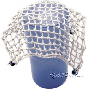 keep the flies away square-mesh net cup cover