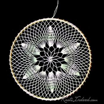 Net suncatcher: Balsam - 5 inch
