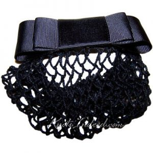 net snood worn at the back of the neck