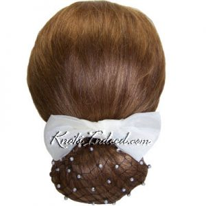 net snood with beads