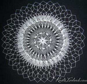 a net doily