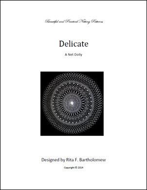 Delicate: a net doily