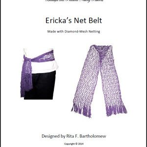 Ericka's Diamond-Mesh Net Belt
