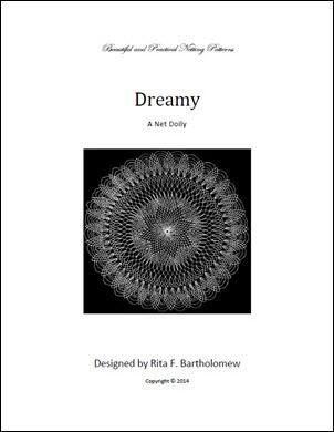 Dreamy: a net doily