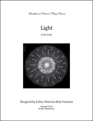 Light: a net doily