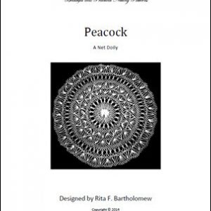 Peacock: a net doily