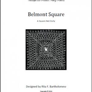 Belmont Square: a net doily