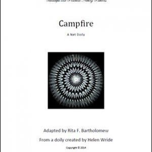 Campfire: a net doily