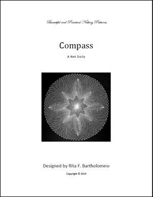 Compass: a net doily