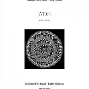 Whirl: a net doily