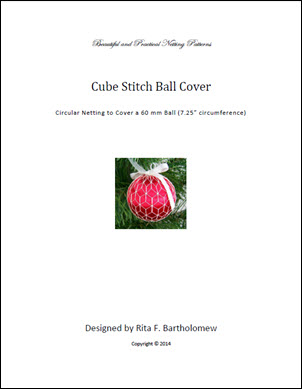 Cube Stitch ball cover
