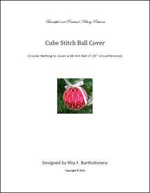 Cube Stitch ball cover