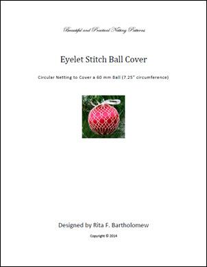 Eyelet Stitchball cover