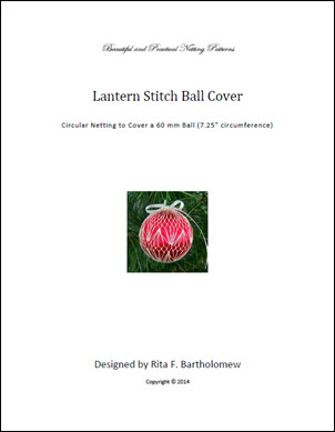 Lantern Stitch ball cover