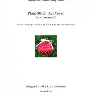 Plain Stitch - medium mesh ball cover