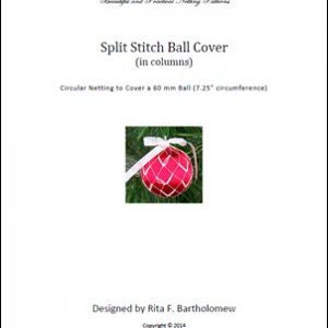 Split Stitch (Columns) ball cover