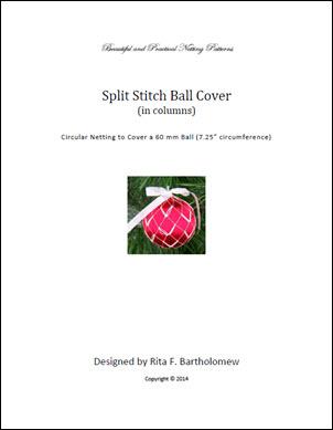 Split Stitch (Columns) ball cover