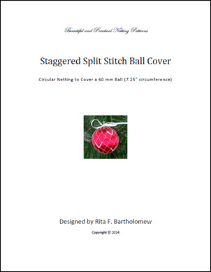 Split Stitch (Staggered) ball cover