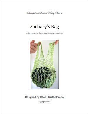 Zachary's Bag: a net bag