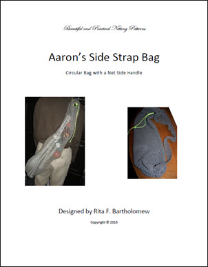 Aaron's Side Strap Bag: a net bag